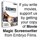Movie Magic Screenwriter from Embryo Films